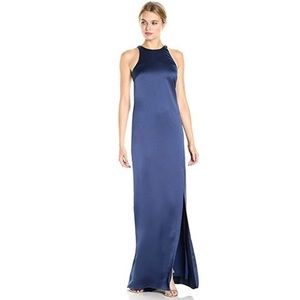 NWT Halston Heritage Strappy Halter Dress